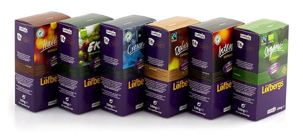 Löfbergs kaffekapsler