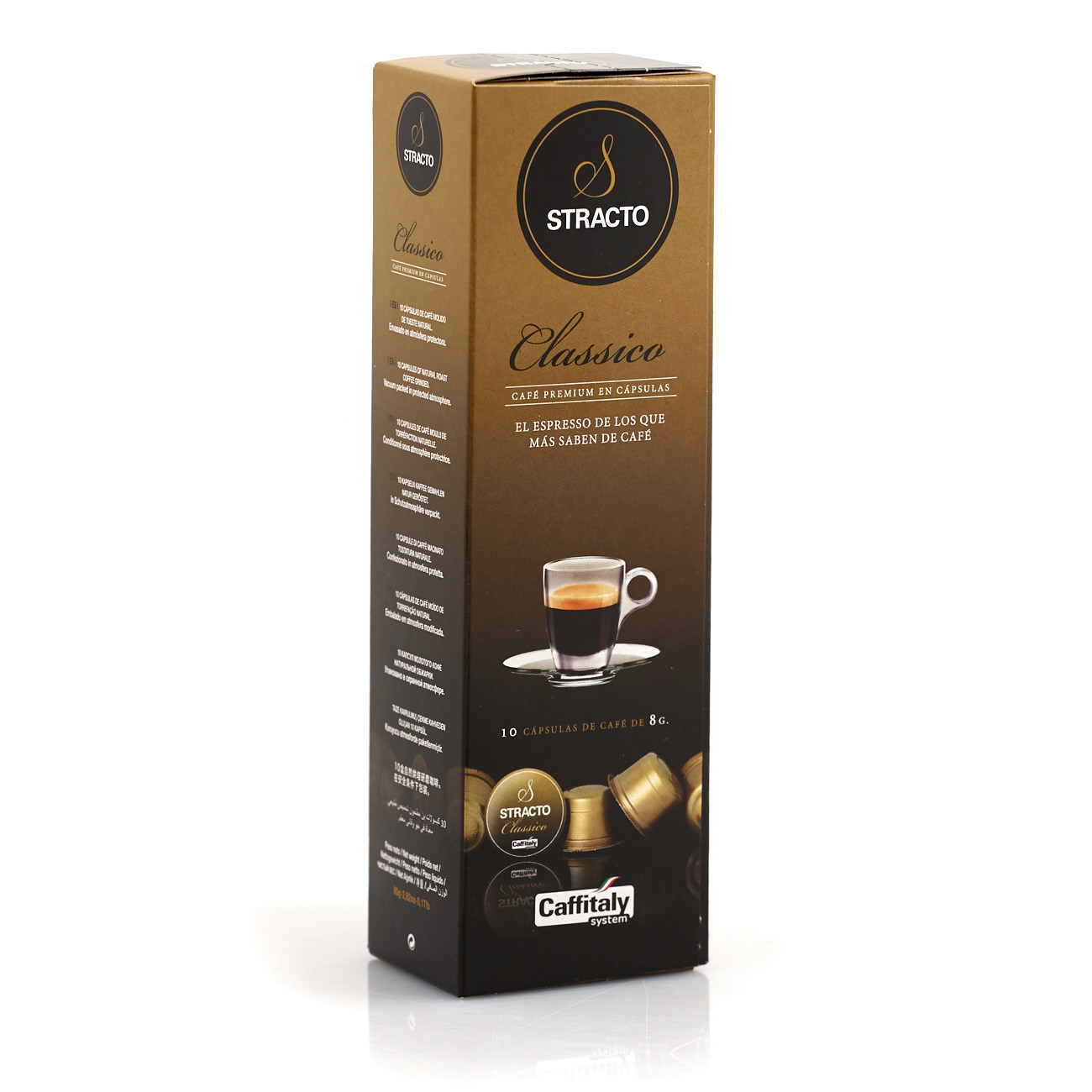 Stracto Classico Caffitaly kaffekapsler